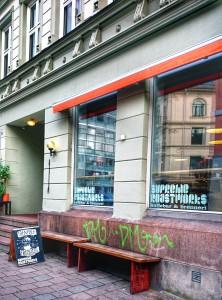 Supreme Roastworks kaffebar og brenneri. Oslo
