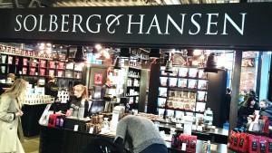Solberg & Hansen kaffebar. Mathallen oslo.